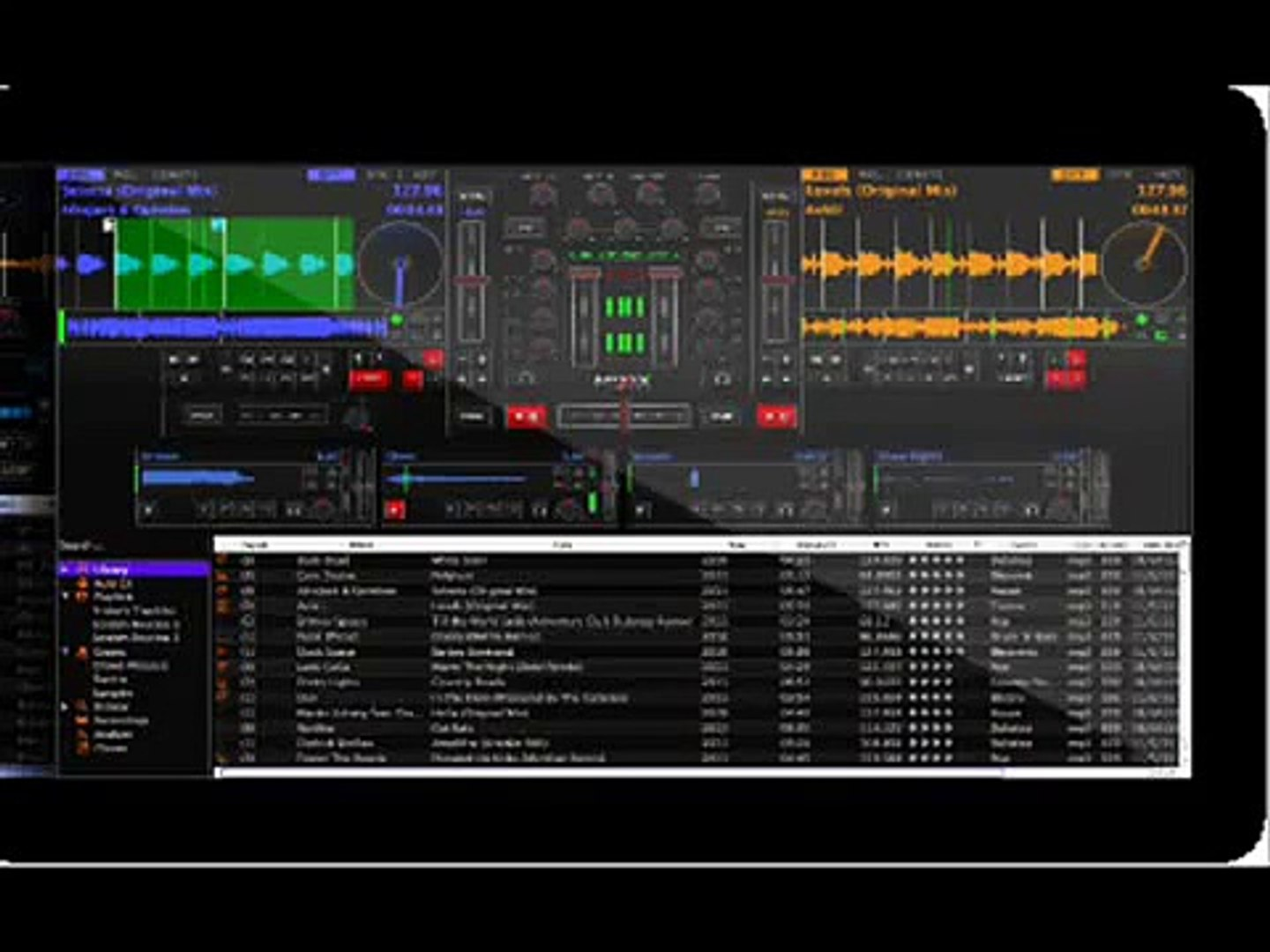 Virtual DJ Mixing Software 2013 How To Make a Mix on Virtual DJ Software