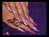 Nails Tutorial #65   Nail Art Designs  Acrylic   Gel Nails Gallery Naio Nails