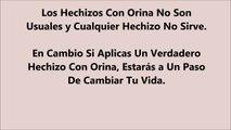 Hechizos Con Orina: Descubre Efectivo Hechizo Con Orina