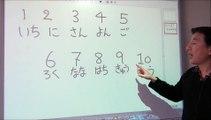 Los números en japonés - Clases de japonés II
