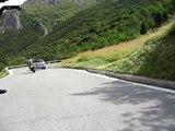 Triumph Speed Triple 1050 mit nettem Ösi den Berg hochjagen Teil 2