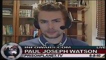 Paul Watson Breaks Down BP Oil Spill as A False Flage Event on Alex Jones Tv 3/4