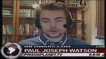 Paul Watson Breaks Down BP Oil Spill as A False Flage Event on Alex Jones Tv 2/4