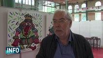 Des artistes vendent leurs oeuvres au profit du Secours Populaire