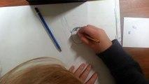 SPEEDDRAWING WALTER WHITE BREAKING BAD   Pencil Portrait