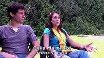 Loïs et Célia, étudiants en ostéopathie et membres d'Ostéopathie Solidarité Développement