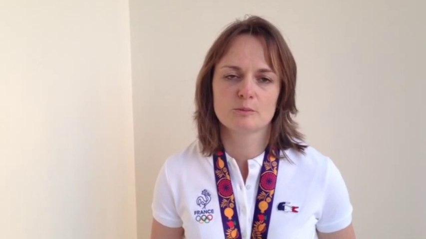 Laurence Brize - Médaille d'argent tir carabine 50m 3 positions