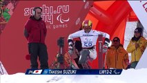 Takeshi Suzuki | Men's downhill sitting | Alpine skiing | Sochi 2014 Paralympics