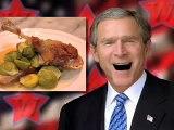 George Bush Discusses Stephen Colbert