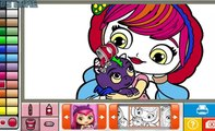 Gry Dla Dzieci Kids Series Games for Book Cartoon Nickelodeon Little Charmers Coloring Gry