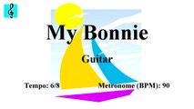 Guitar Tutorial - My Bonnie (Sheet music - Guitar chords)