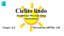 Guitar Tutorial - Cielito lindo (Sheet music - Guitar chords)