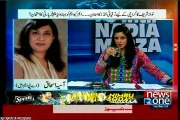 NEWSONE 10PM With Nadia Mirza with MQM Sajid Ahmed (16 JUne 2015)
