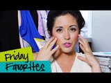 Friday Favorites This Week! Manicures, Hair Products, Face Wash & Makeup!