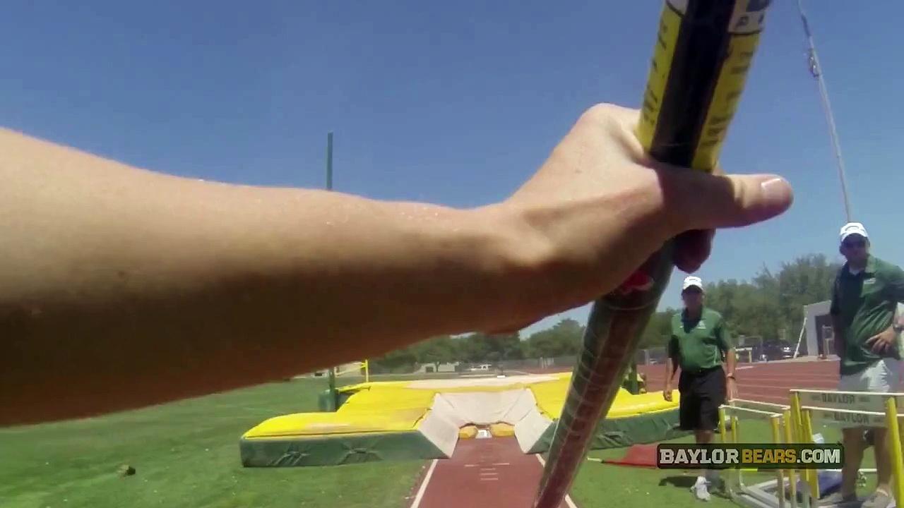 Baylor Track & Field GoPro Practice