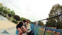 Creative Skateboarding Mini Ramp Combo!