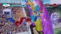 Dragonball Xenoverse- SSGSS Goku vs. SSGSS Vegeta