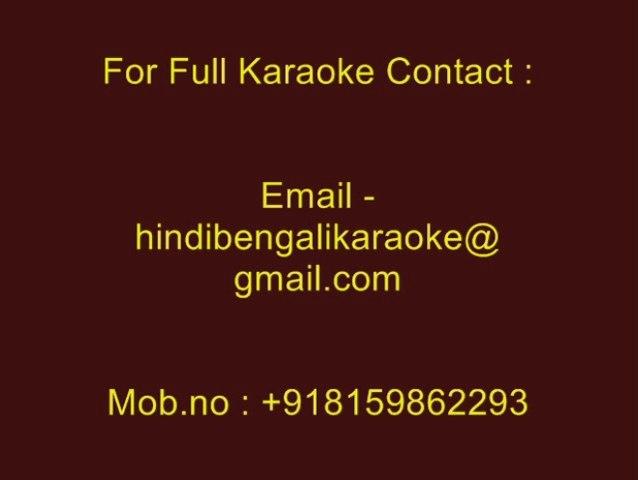 Taaron Ka Chamakta Gehna Ho - Karaoke - Hum Tumhare Hain Sanam (2002) - Udit Narayan | Godialy.com