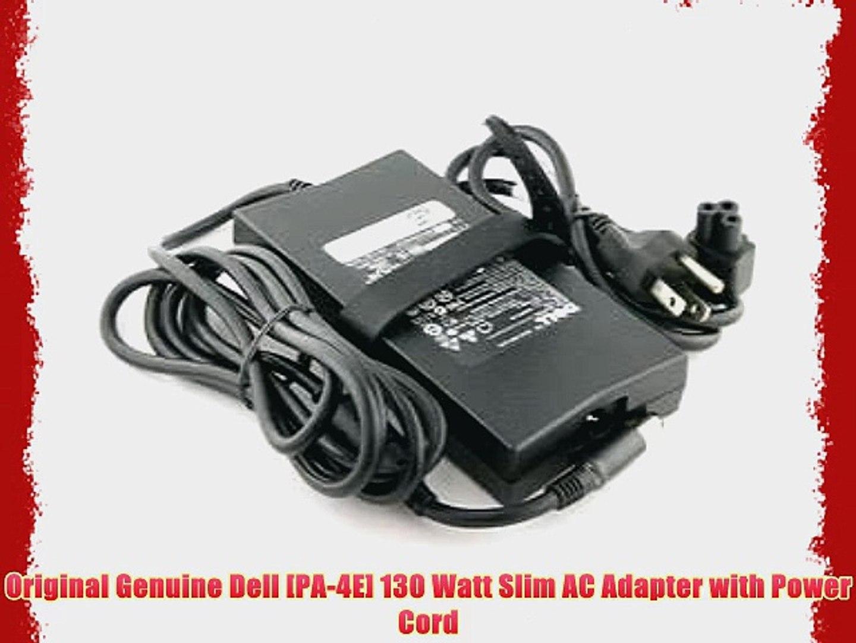 Dell genuine OEM 130W AC adapter PA-4E original DA130PE1-00 ADP-130DB B JU012