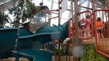 Center Parcs Les Trois Forêts Hattigny - Water Play House offene Rutsche Onride