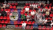 FCK de Hommel 1 vs TZR Fermonia Boys 1 comp 10-9-11
