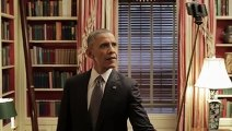 How did to get President Obama to use a selfie stick?For a minute it was easy to forget that he is the president of US