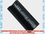 6600mAh/49Wh Battery for Asus Eee PC Series Netbook Laptop Eee PC 901 Eee PC 1000 Eee PC 1000H