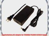 Toshiba Pslu0u-02S034 laptop AC adapter power adapter (Replacement) -Volts: 19V Watts: 120W