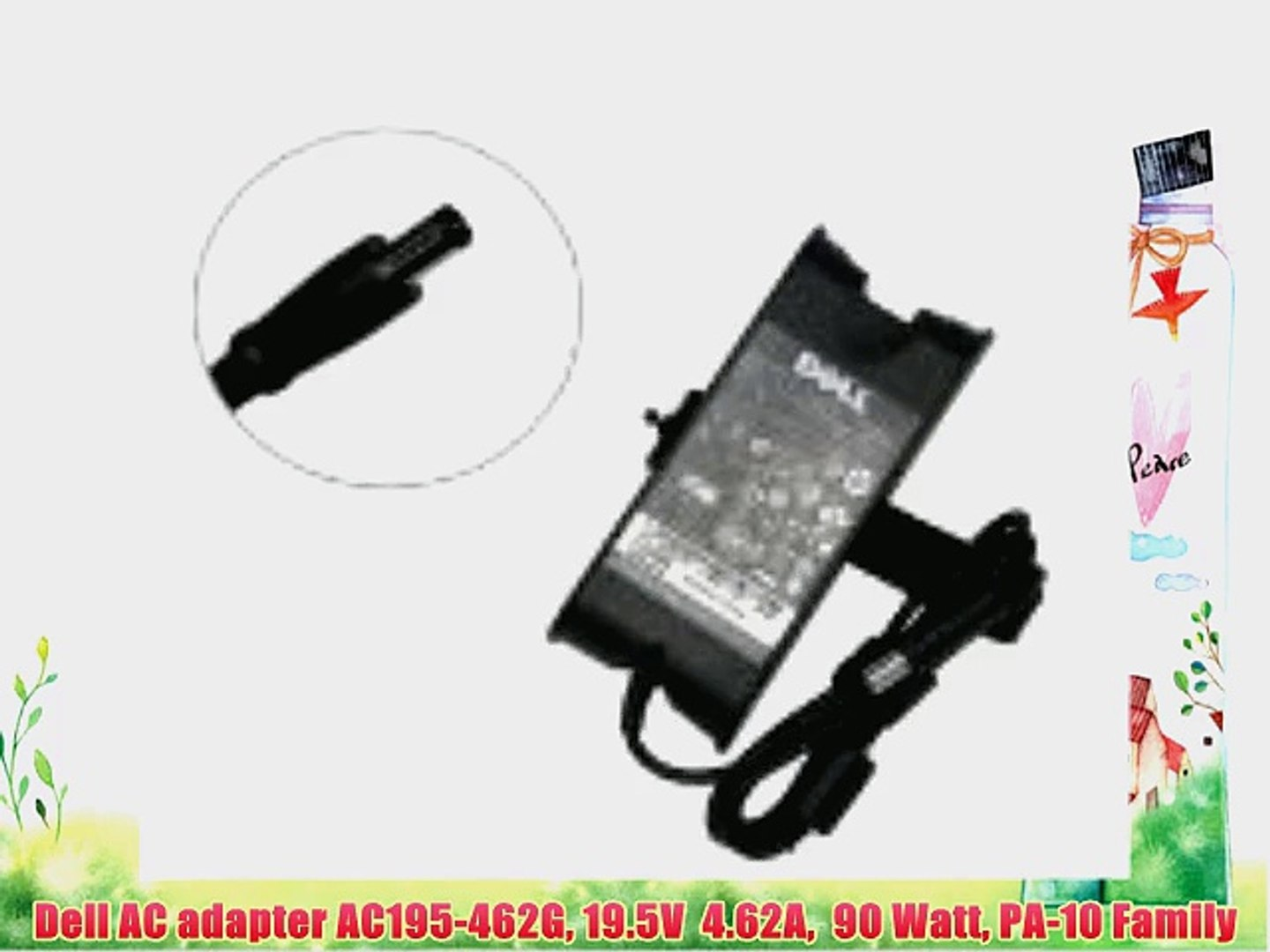 Genuine Dell Laptop Charger AC Adapter Power Supply ADP90LD B DA90PM111 MK947