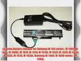 External Battery Charger for Gateway M-150 series   M-150S M-150X M-150XL M-151S M-151X M-151XL