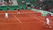 Funny Tennis- Henri Leconte, Mansour Bahrami, John McEnroe, Andrés Gómez Roland Garros Final 1