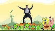 PSY Gentleman Vs Gangnam Style - Angry Birds
