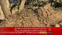 تقرير ناري: الجزيره لقاء مع كتائب القسام فى الخطوط الاماميه داخل الانفاق وبعض القناصين(العصف المأكول