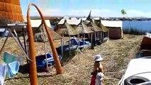 Les îles flottantes UROS du Lac Titicaca