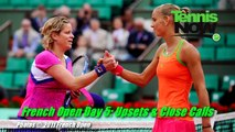 French Open Day 5 - Kim Clijsters Upset, Sharapova Survives, Nadal And Murray March On