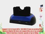 Sourcingbay USB 3.0 2.5/3.5 SATA/IDE Dual HDD Docking Station HDD Enclosure HDD Block Offline