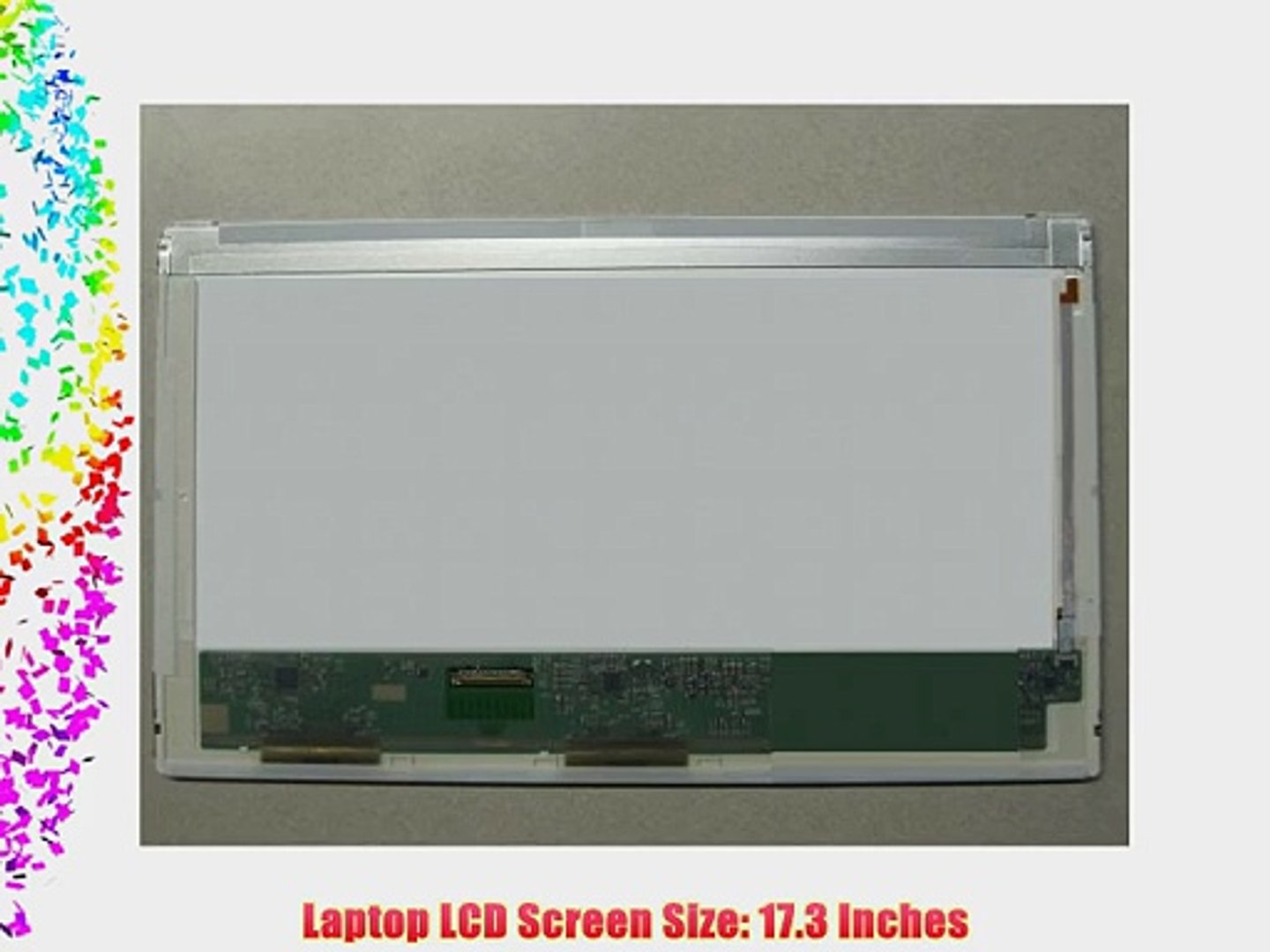 "TL B2 17.3/"" WUXGA HD replacement LCD LED Display Screen LP173WF1"
