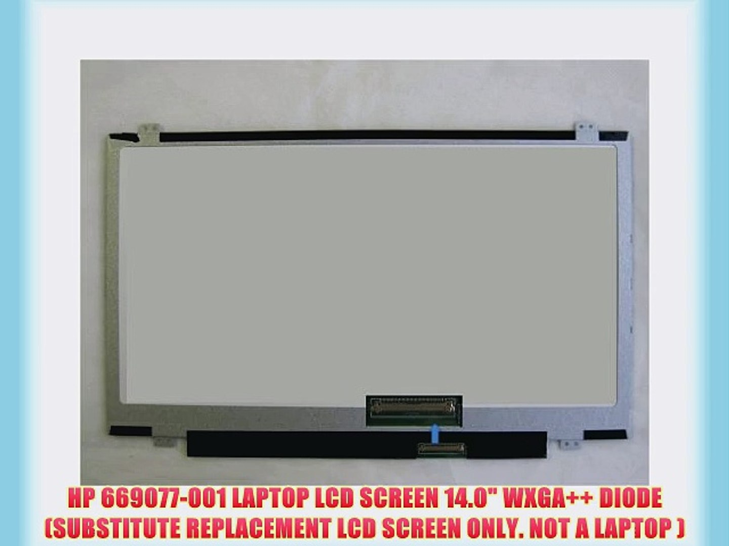 SUBSTITUTE REPLACEMENT LCD SCREEN ONLY. NOT A LAPTOP DIODE DELL MJ154 LAPTOP LCD SCREEN 14.0 WXGA+