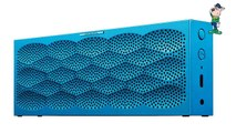 MINI JAMBOX by Jawbone Wireless Bluetooth Speaker - Aqua Scales - Retail Packaging