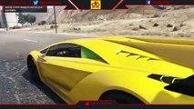 GTA 5 - DRAGSTER VS MOTO DRAGSTER ! ACCELERATION, MEGA RAMP