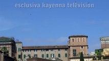 Avvistamento UFO a Roma 2 luglio 2011 ore 17,30. Ripreso da Fori Imperiali.