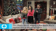 'Girl Meets World' Staged a 'Boy Meets World' Reunion That Broke Some Hearts