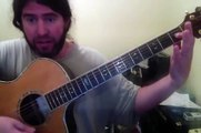 Logans guitar lesson 6-19-2015