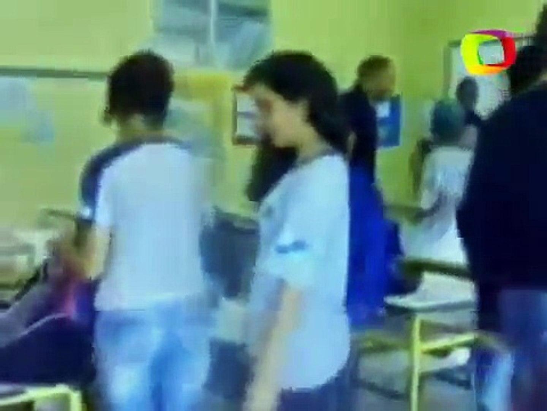 Veja momento em que professor agride aluno com socos no Rio de Janeiro