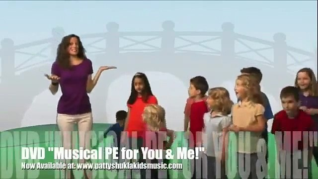 Stand Up, Sit Down Children's song by Patty Shukla (DVD Version)  - HD