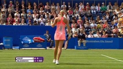 Birmingham - Mladenovic a semis, Carla Suárez eliminada
