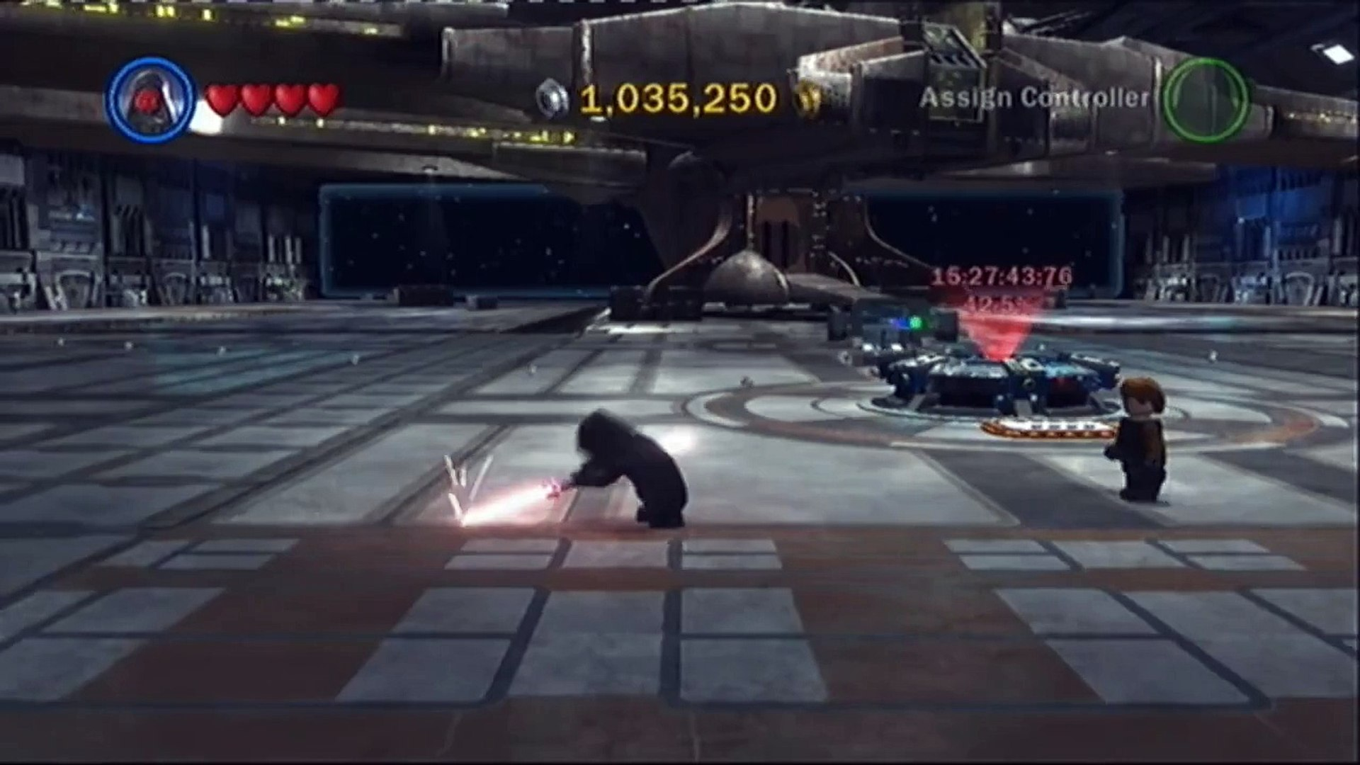 Lego Star Wars 3 The Clone Wars: Darth Maul Gameplay