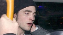 Robert Pattinson CRASHES Into A Wall At Ted 2 Premiere Party
