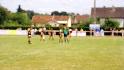 Essai de Adrien Falcou de Palavas contre Le Rheu  finale championnat de France Excellence B (31-05-15)