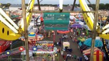 Sky Wheel Double Ferris Wheel Carnival Flat Ride On-Ride POV Strawberry Festival Florida